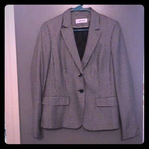 CK Blazer - Fitted back